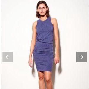 Sundry Star Sleeveless Ruched Tank Dress